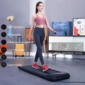 Urevo U1 WalkingPad Ultra Thin Smart LED Treadmill Walking Machine - Black - 1