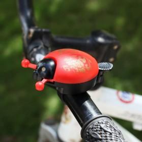 OTANI Bell Sepeda Ladybug Bicycle Horn Cycling - DDD173 - Black - 2