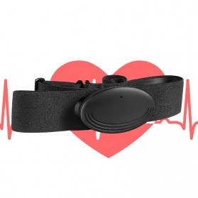 Spovan Chest Strap Belt Heart Rate Monitor Sabuk Tali Dada ECG Sensor - HR03 - Black