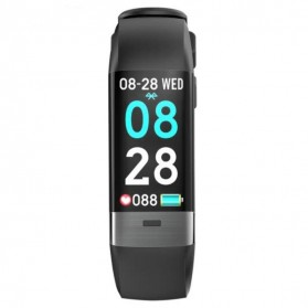 SKMEI Smart Watch Fitness Tracker Bluetooth Waterproof - B33 - Black