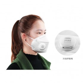 Remax Masker Anti Polusi Filter Udara 4 Protection - RT-SP05 - White
