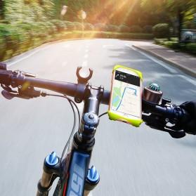 Baseus Smartphone Holder Sepeda/Motor - SUMIR-BY01 - Black - 6