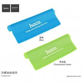 Hoco Handuk Dingin Olahraga - Blue - 5