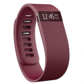 Fitbit Charge Wireless Activity Tracking Wristband - Large Size - Purple - 1