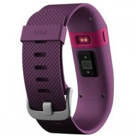 Fitbit Charge HR Heart Rate Wireless Activity Tracking Wristband - Large Size - Purple - 2