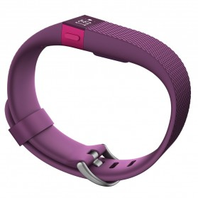 Fitbit Charge HR Heart Rate Wireless Activity Tracking Wristband - Large Size - Purple - 3