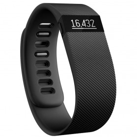 Fitbit Charge Wireless Activity Tracking Wristband - Small Size - Black - 1