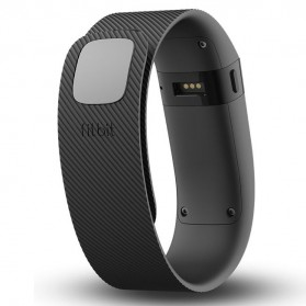 Fitbit Charge Wireless Activity Tracking Wristband - Small Size - Black - 2