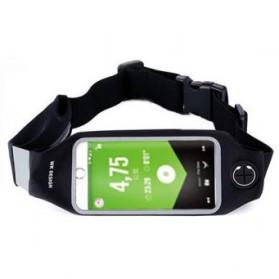 WK Lemove Tas Pinggang lari untuk Smartphone 5.5 Inch - WT-B08 - Black - 1