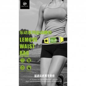 WK Lemove Tas Pinggang lari untuk Smartphone 5.5 Inch - WT-B08 - Black - 2
