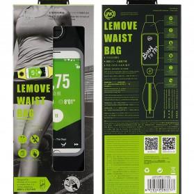 WK Lemove Tas Pinggang lari untuk Smartphone 5.5 Inch - WT-B08 - Black - 4