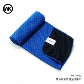 WK Handuk Dingin Sport - WT-TW01 - Blue