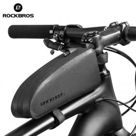 Rockbros Tas Barang Rangka Sadel Sepeda Waterproof Bag - AS-019-1 - Black