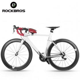 Rockbros Tas Rangka Saddle Sepeda Tube Bag - Black - 3