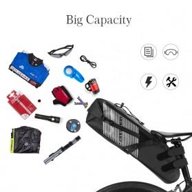 Rockbros Tas Sepeda Trunk Pannier Waterproof IPX7 Nylon 10L - Black - 2