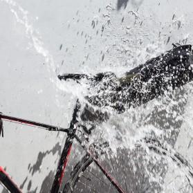 Rockbros Tas Sepeda Trunk Pannier Waterproof IPX7 Nylon 10L - Black - 4
