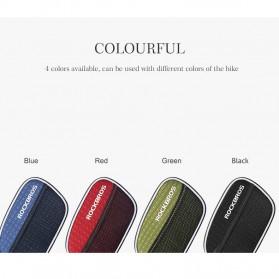 Rockbros Tas Sepeda Double Bag Smartphone 6 Inch - Y Leopard - Black - 10