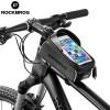 Tas Barang Perlengkapan Sepeda - Rockbros Tas Sepeda Waterproof untuk 6.0 inch Smartphone - 017-1 - Black