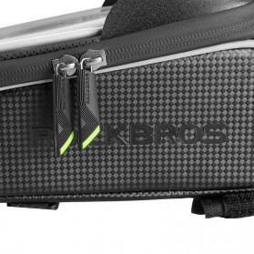Rockbros Tas Sepeda Waterproof untuk 6.0 inch Smartphone - 017-1 - Black - 3