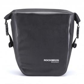 Rockbros Tas Sepeda Trunk Pannier Waterproof Nylon 18L - Black - 2