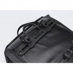 Rockbros Tas Sepeda Trunk Pannier Waterproof Nylon 18L - Black - 3
