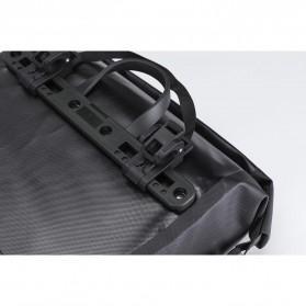 Rockbros Tas Sepeda Trunk Pannier Waterproof Nylon 18L - Black - 4