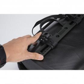 Rockbros Tas Sepeda Trunk Pannier Waterproof Nylon 18L - Black - 5