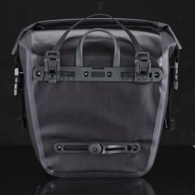 Rockbros Tas Sepeda Trunk Pannier Waterproof Nylon 18L - Black - 6