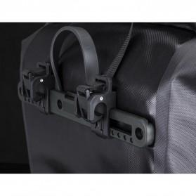 Rockbros Tas Sepeda Trunk Pannier Waterproof Nylon 18L - Black - 8