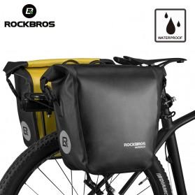 Rockbros Tas Sepeda Trunk Pannier Waterproof Nylon 18L - Black - 9