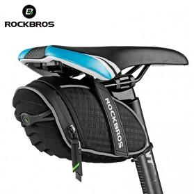 Rockbros Tas Sepeda 3D Shell Waterproof - Black - 2