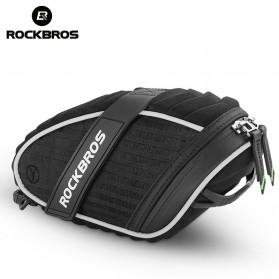 Rockbros Tas Sepeda 3D Shell Waterproof - Black - 3