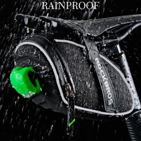 Rockbros Tas Sepeda 3D Shell Waterproof - Black - 5