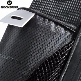 Rockbros Tas Sepeda Microfiber Waterproof dengan Holder Botol Minum - C7-1 - Black - 4