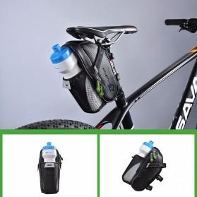 Rockbros Tas Sepeda Microfiber Waterproof dengan Holder Botol Minum - C7-1 - Black - 8