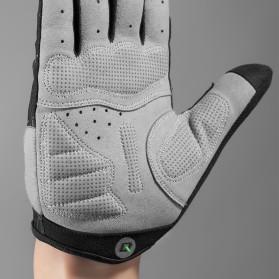 Rockbros Sarung Tangan Spider Full Finger Sepeda Fitness Size M - S109 - Black - 3