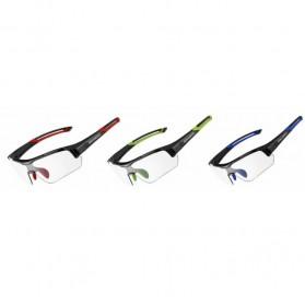 Rockbros Kacamata Sepeda Sporty dengan Frame Myopia - Black/Red - 6