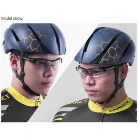 Rockbros Kacamata Sepeda Sporty dengan Frame Myopia - Black/Red - 7