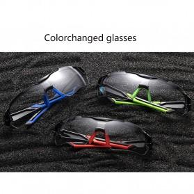 Rockbros Kacamata Sepeda Sporty dengan Frame Myopia - Black/Red - 8