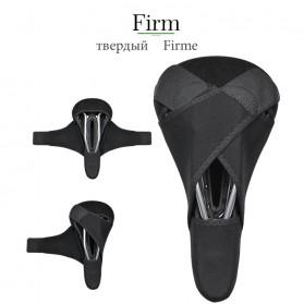 Rockbros Cover Jok Sadel Sepeda Breathable Silica Gel Mat - LF047-S - Black - 2