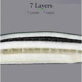 Rockbros Cover Jok Sadel Sepeda Breathable Silica Gel Mat - LF047-S - Black - 4