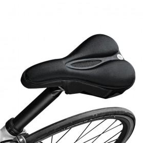 Rockbros Cover Jok Sadel Sepeda Breathable Silica Gel Mat - LF047-S - Black - 5