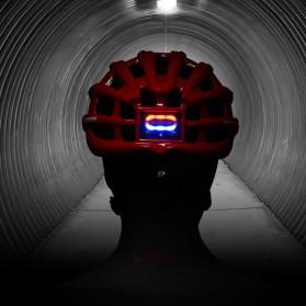ROCKBROS Helm Sepeda Light Cycling Bike Helmet with Headlight - ZN1001 - Black - 3