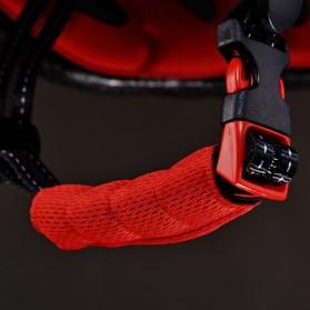ROCKBROS Helm Sepeda Light Cycling Bike Helmet with Headlight - ZN1001 - Black - 4