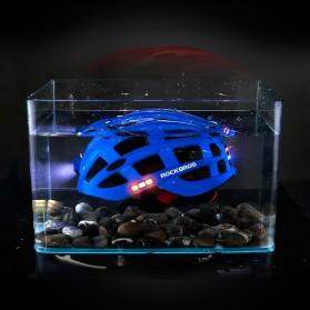 ROCKBROS Helm Sepeda Light Cycling Bike Helmet with Headlight - ZN1001 - Black - 5