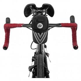 Rockbros Tas Sepeda Mini Bicycle Saddle Rear Bag - C28 - Black - 10
