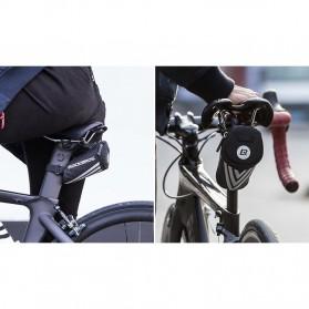 Rockbros Tas Sepeda Mini Bicycle Saddle Rear Bag - C28 - Black - 6