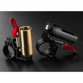 Rockbros Bell Sepeda Copper Bike Horn - 2018-1C - Black - 8