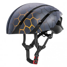 ROCKBROS Helm Sepeda Cycling Bike Helmet - LK-1 - Black/Yellow
