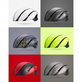 ROCKBROS Helm Sepeda Cycling Bike Helmet - LK-1 - Black/Yellow - 10